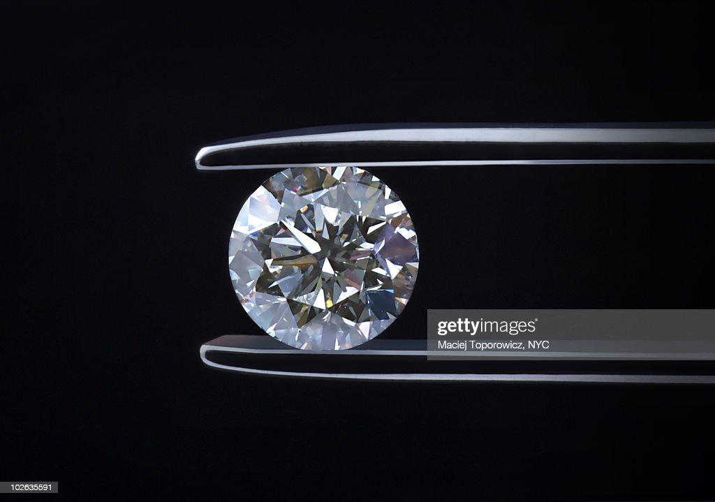 Night Diamond : Stock Photo