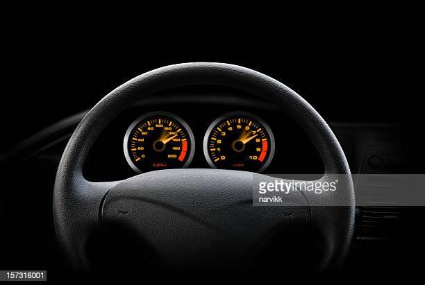 Noche en automóvil