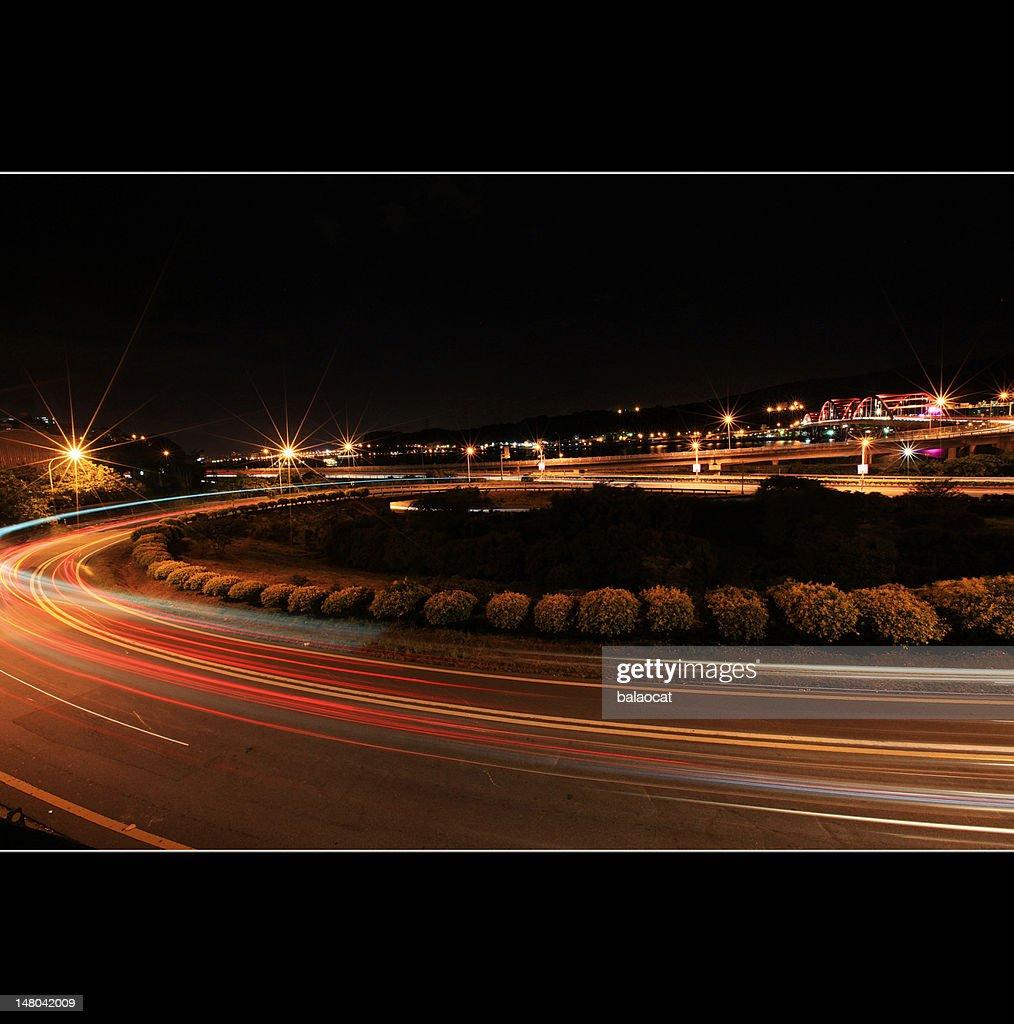Night exposure : Stock Photo