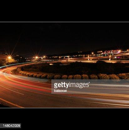 Night exposure : Foto de stock