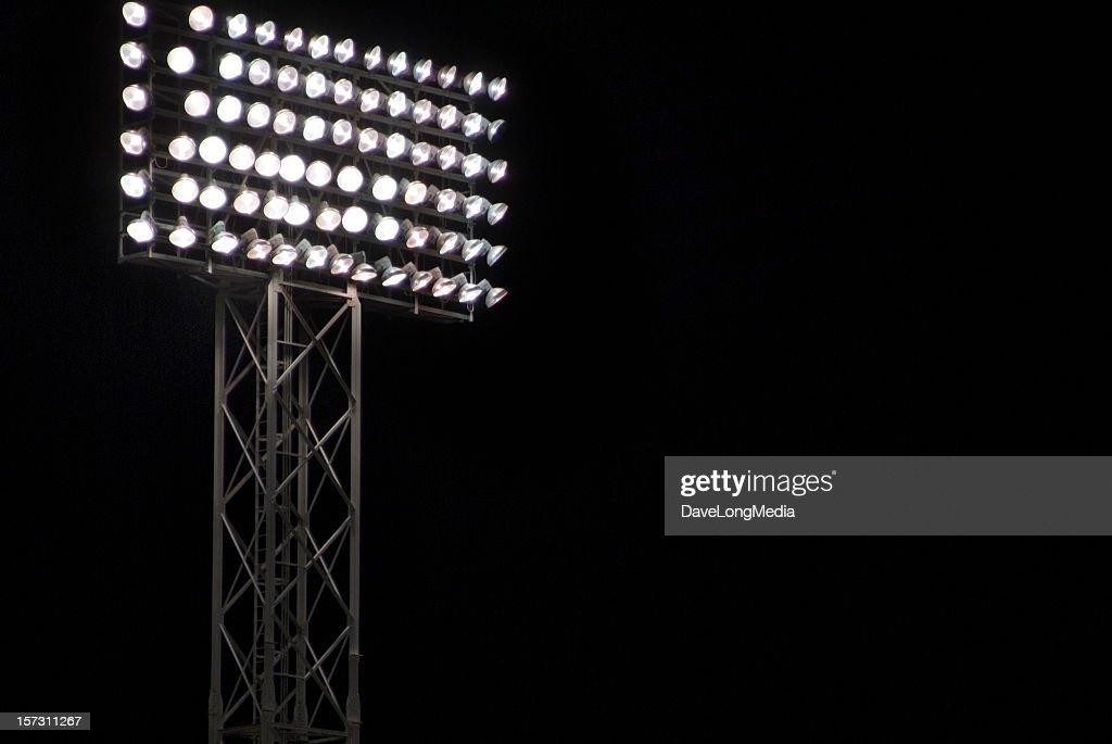 Night Game : Stock Photo