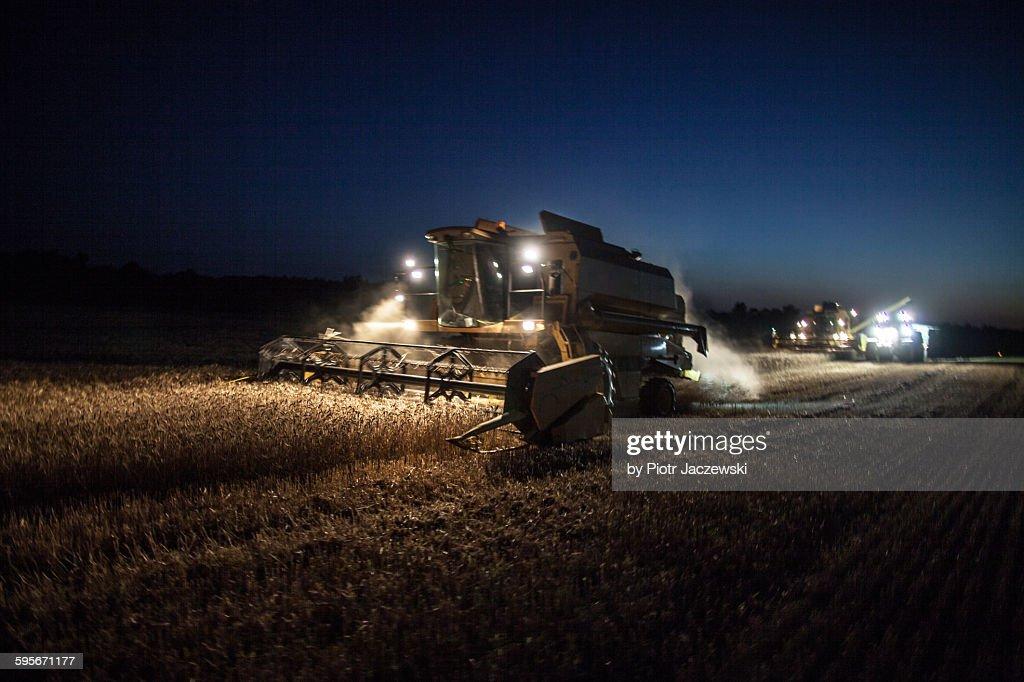 Night harvesting