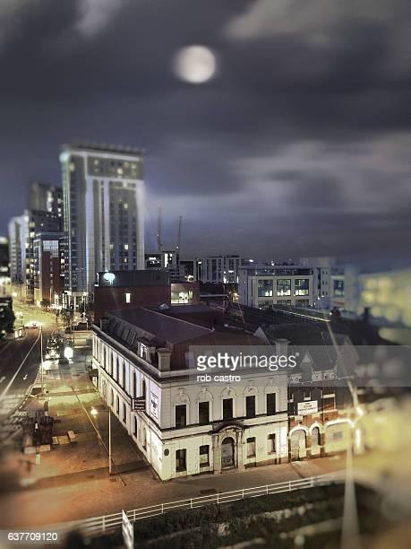Night in Cardiff