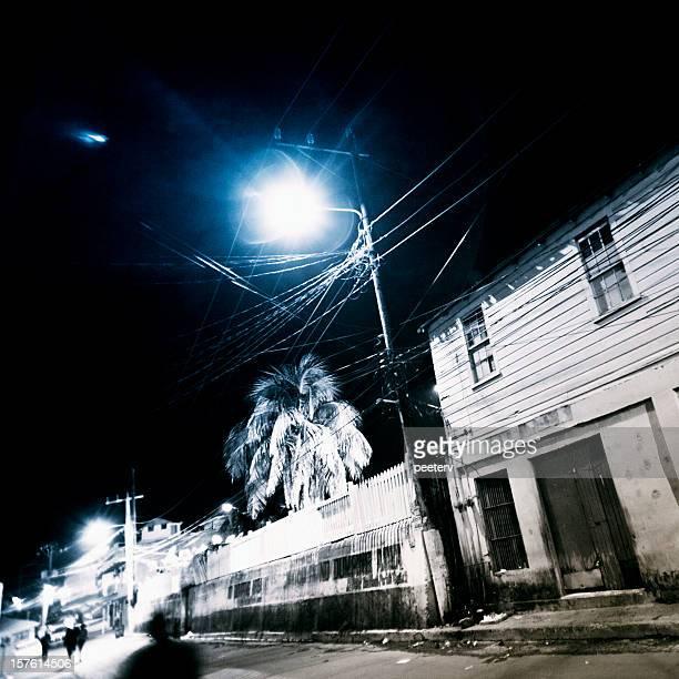 Nuit dans les Caraïbes ville