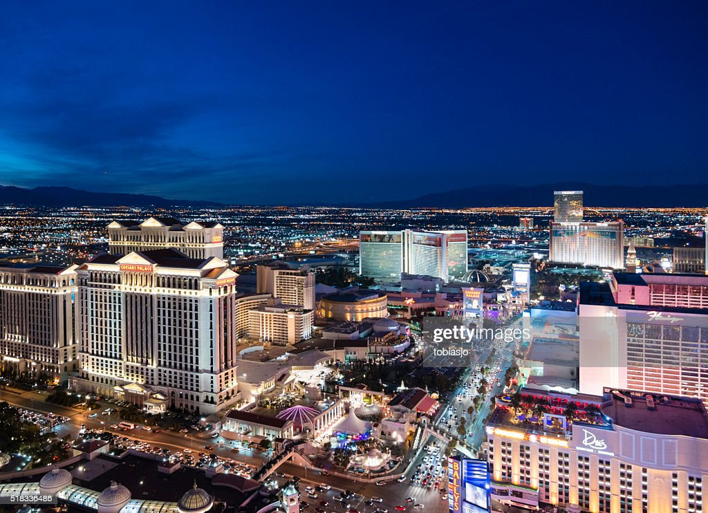 Night in Las Vegas : Stock Photo