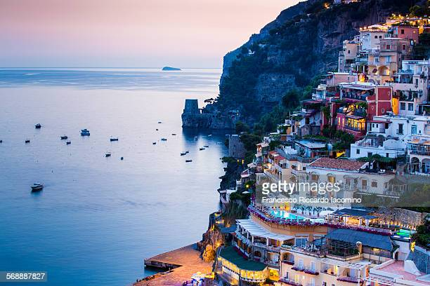 A night in Positano