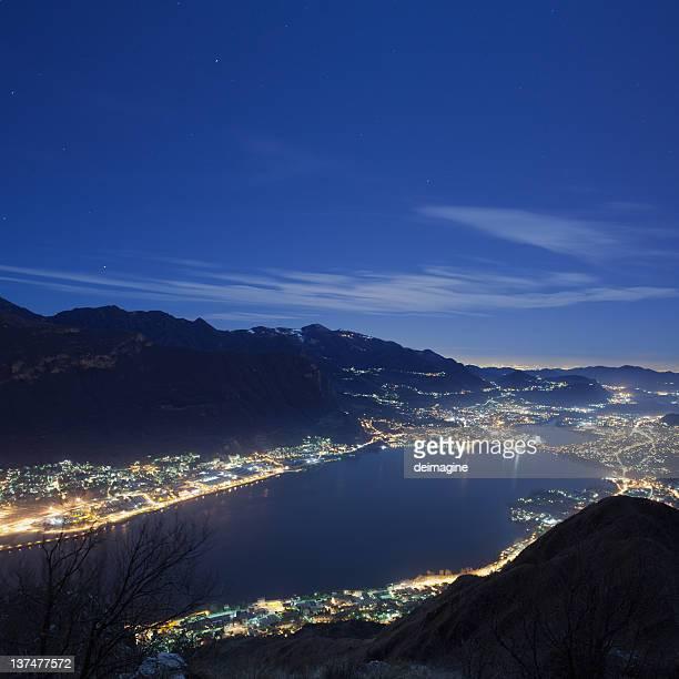 Paesaggio di notte