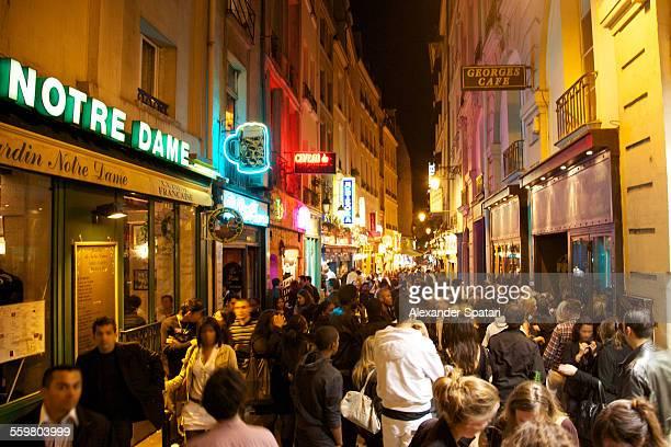 Night life in Paris