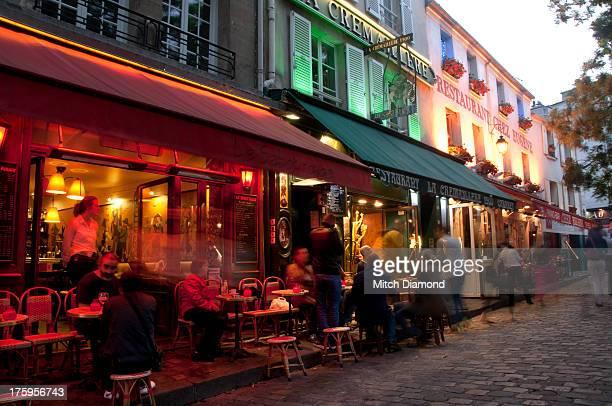 Night life of Montmartre