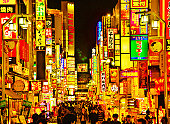 Night light in Kabukicho