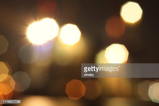 Night Lights Bokeh