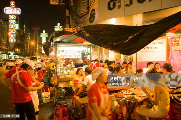 Night market in Soi Texas, Chinatown.
