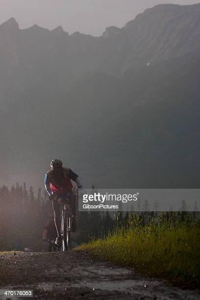 Night Mountain Bike Rider