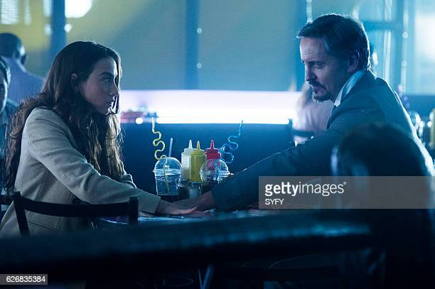 THE MAGICIANS 'Night of Crowns' Episode 201 Pictured Stella Maeve as Julia Charles Mesure as The Beast