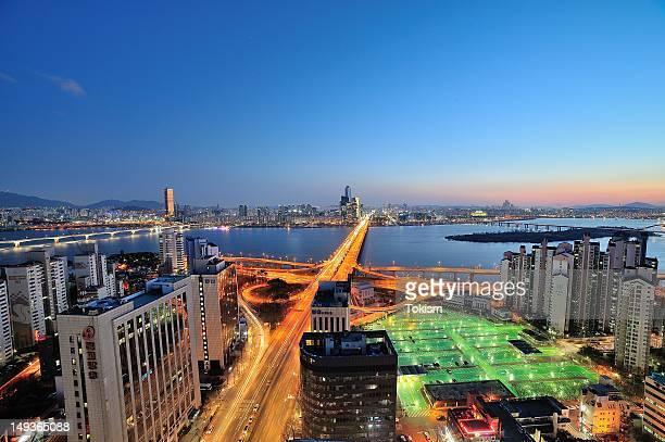 Night of Mapo bridge