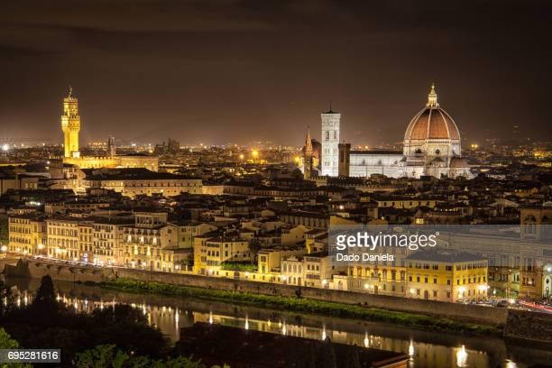 Night Panorama of Florence