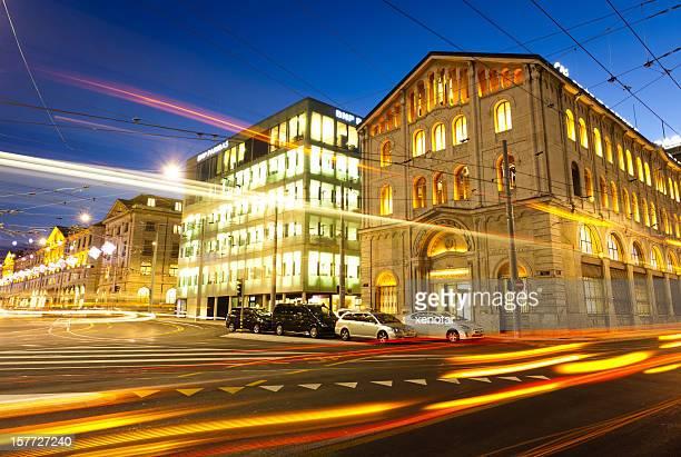 Nacht Szene der STAND in Genf
