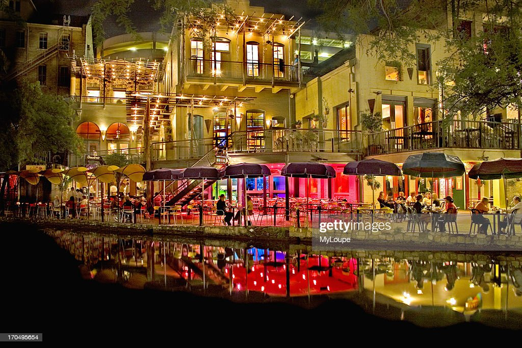 Night Scene Of The San Antonio Texas River walk State Fair Of Texas 2005 Winner Don Despain Of Rekindle Photo