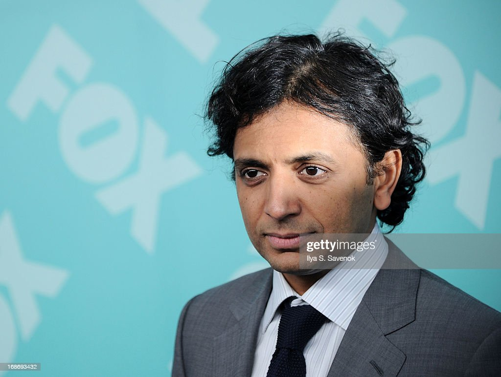 M. Night Shyamalan attends FOX 2103 Programming Presentation Post-Party at Wollman Rink - Central Park on May 13, 2013 in New York City.