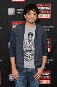 M Night Shyamalan attends the C2E2 Chicago Comic and Entertainment Expo at McCormick Place on April 24 2015 in Chicago Illinois