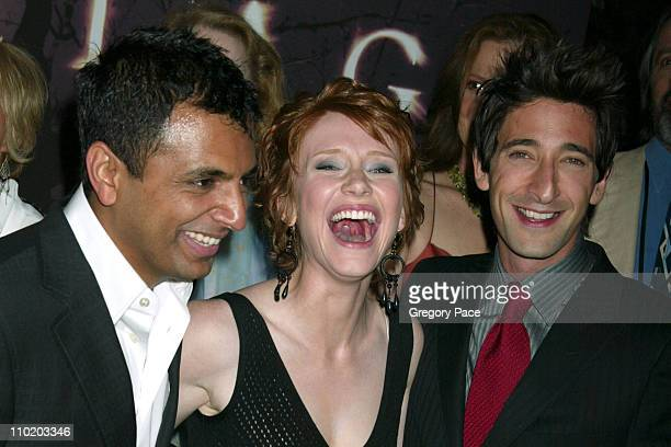 M Night Shyamalan director Bryce Dallas Howard and Adrien Brody