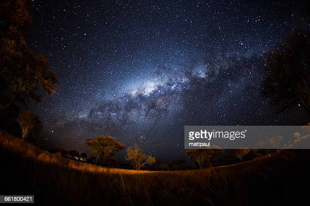 Night Sky and Milky Way, Namibia