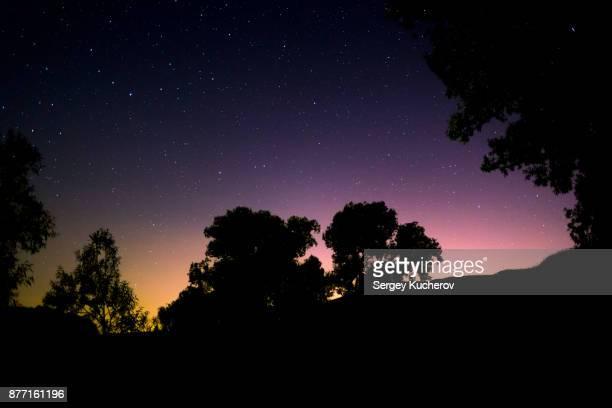 Night sky in Chuvashia