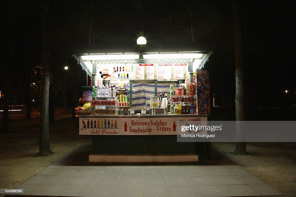 Night Stand in Paris