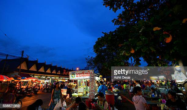 Night street food market, Chiang Mai