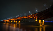 Night Tight View of Sungsu Bridge