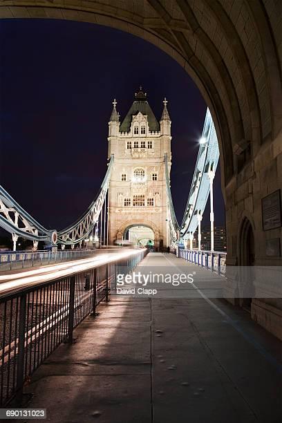 Night time at Tower Bridge London