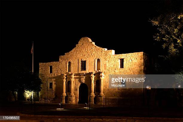Night Time Photo Of The Famous Historic Alamo In San Antonio Texas Don Despain Of Rekindle
