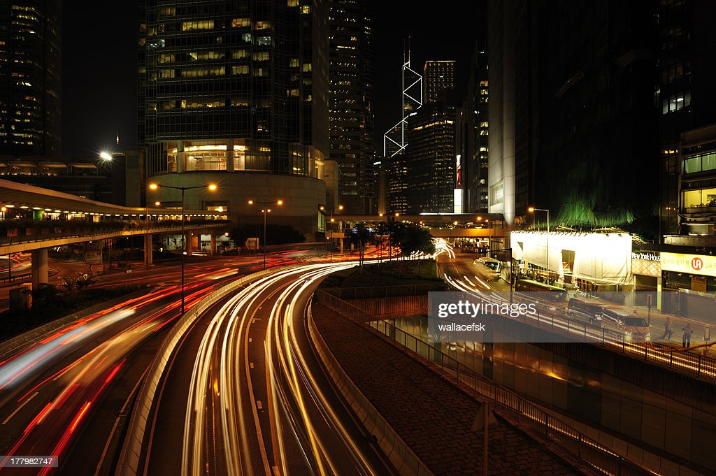 Night Track Stock Photo | Getty Images