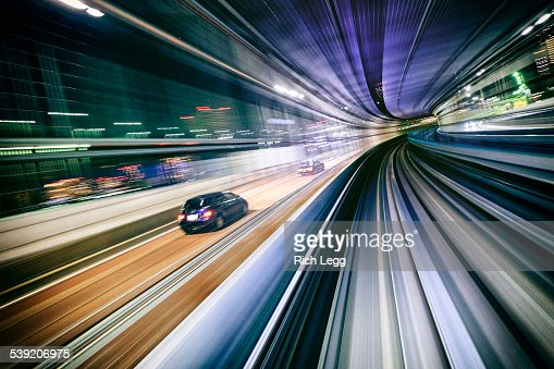 Night Train in Japan