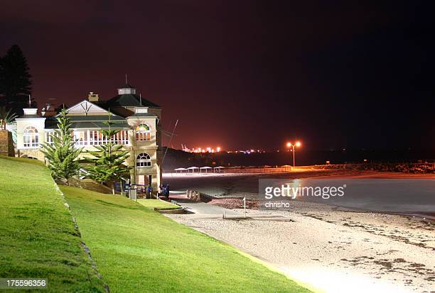 Night view looking over Cottesloe beach