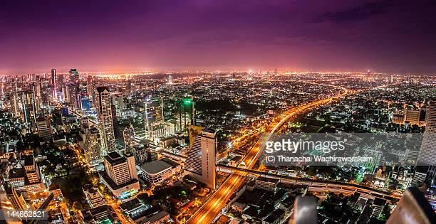 Night view of Bangkok