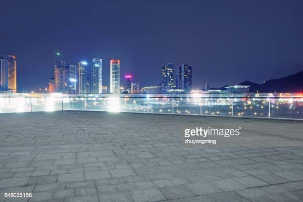Night view of Dalian Xinghai Square