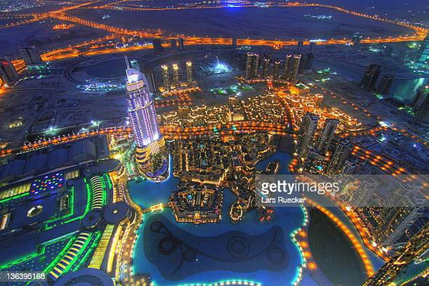 Night view of Dubai
