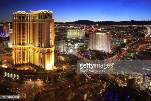 Night view of Las Vegas