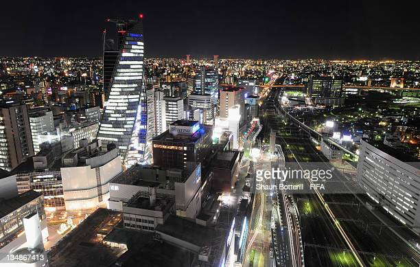 A night view of Nagoya City on December 5 2011 in Nagoya Aichi Japan