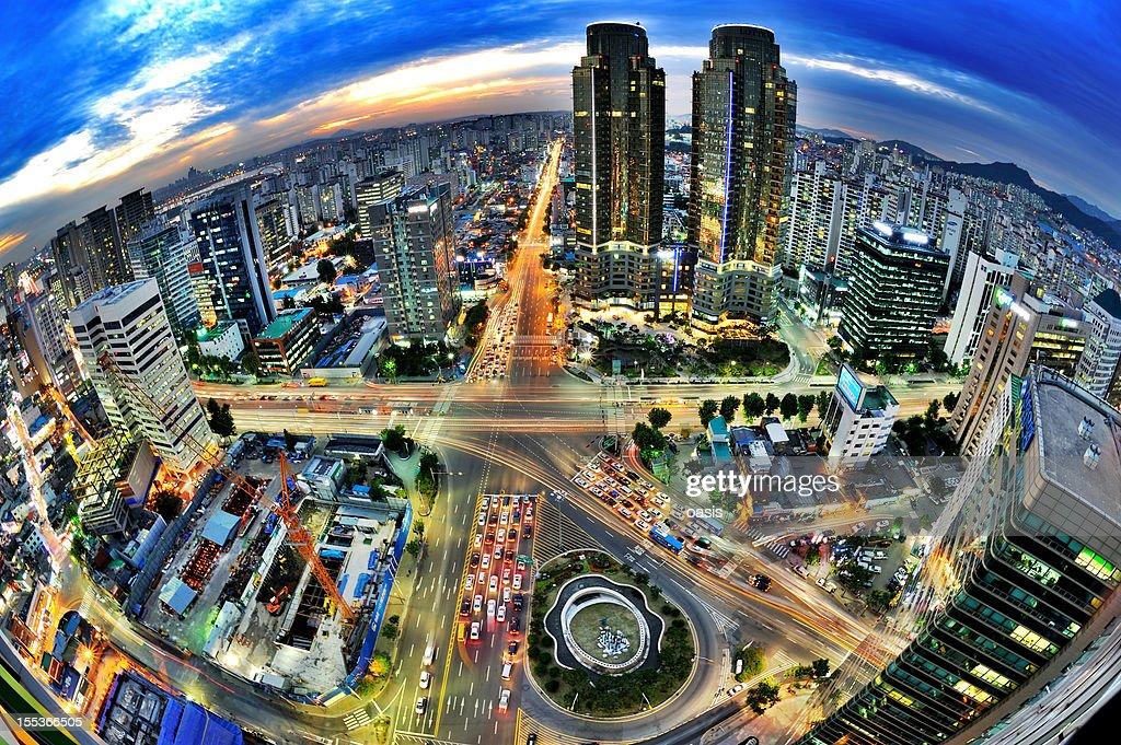 Night view of Seoul : Stock Photo
