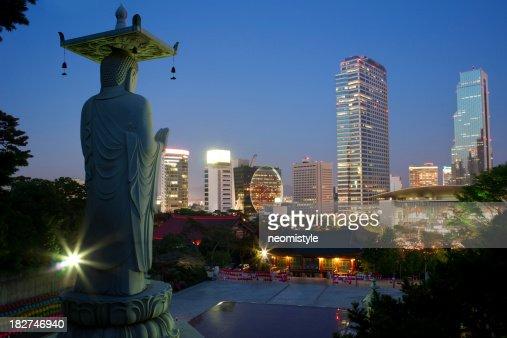 Night view of Seoul