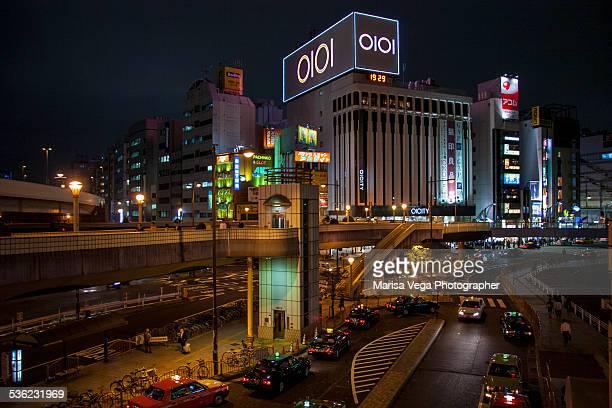 Night view of Ueno