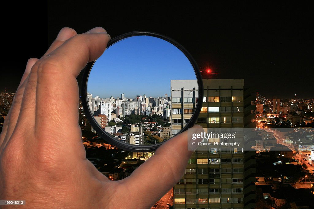night vision photo filter