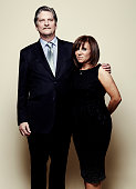 'Night Will Fall' directors Andre Singer and Sally Angel pose for a portrait at the 75th Annual Peabody Awards Ceremony at Cipriani Wall Street on...