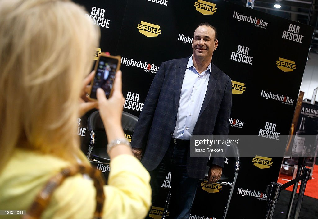 Nightclub & Bar Media Group President and host and Co-Executive Producer of the Spike television show 'Bar Rescue' Jon Taffer at the Spike TV booth during the 28th annual Nightclub & Bar Convention and Trade Show at the Las Vegas Convention Center on March 20th, 2013 in Las Vegas, Nevada.