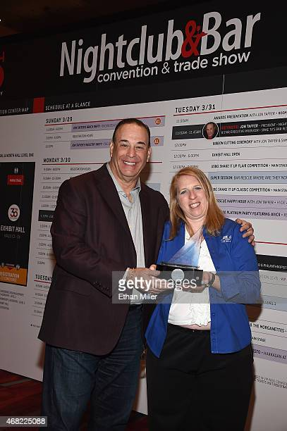 Nightclub Bar Media Group President host and CoExecutive Producer of the Spike television show 'Bar Rescue' Jon Taffer and VP of the SCORE Foundation...