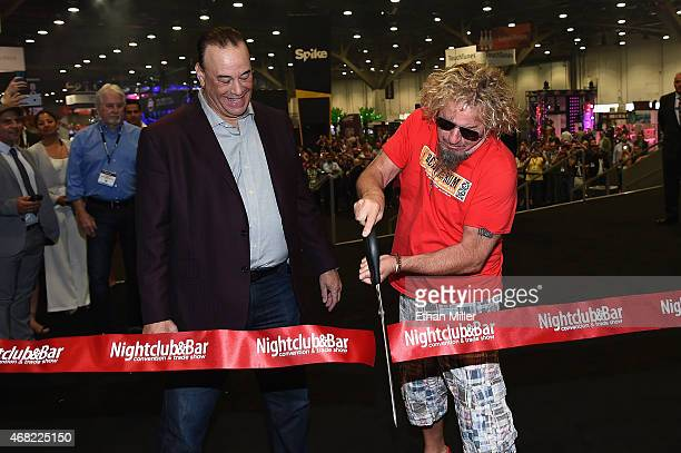Nightclub Bar Media Group President host and CoExecutive Producer of the Spike television show 'Bar Rescue' Jon Taffer and recording artist Sammy...