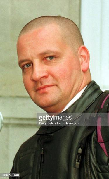 Nightclub bouncer Paul Packer leaves Salisbury Crown Court after giving evidence at a case where defendant Martin Richardson denied assaulting...