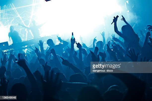 Nightclub crowd